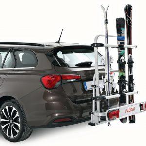 Towbar ski racks