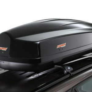 Car roof and towbar boxes