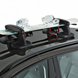 Magnetic ski racks